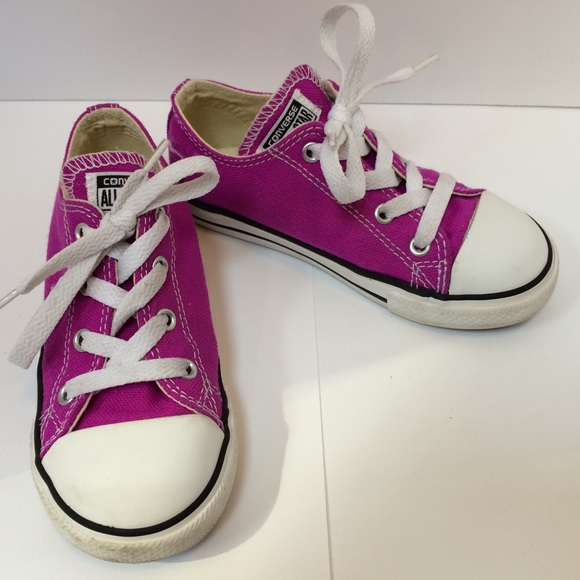 Kids' Clothing, Shoes & Accs Unisex Shoes Converse Chuck Taylors All Star Kids Size 10 Used